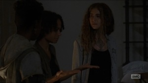 Who Are You Now- Magna, Kelly, and Connie debate their next move- The Walking Dead, AMC