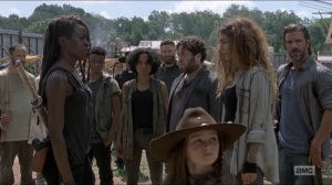 Who Are You Now- Michonne meets the newcomers- The Walking Dead, AMC