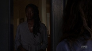 Who Are You Now- Michonne tells Magna that they have all done things- The Walking Dead, AMC