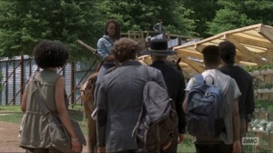 Who Are You Now- Michonne tells the newcomers that they'll be going to the Hilltop- The Walking Dead, AMC