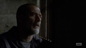 Who Are You Now- Negan tells Judith about how he used to bring stray dogs home with him- The Walking Dead, AMC