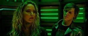 X-Men Apocalypse- Peter tells Raven that Magneto is his father