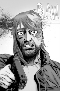 The Walking Dead #186- Dwight is shot and killed