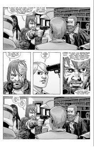 The Walking Dead #186- Dwight threatens to shoot Pamela