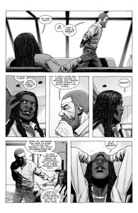 The Walking Dead #186- Rick and Michonne talk about the Commonwealth