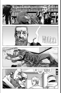 The Walking Dead #186- Rick shoots and kills Dwight