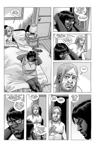 The Walking Dead #186- Stephanie asks Eugene if he wants to see her real hair