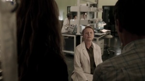 gaMe changer- Dr. Garber tells Reed and Caitlin that Lauren has two versions of the X-gene- The Gifted, Fox, X-Men