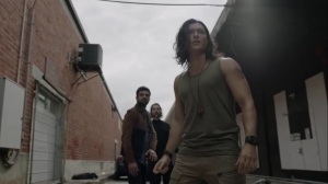 gaMe changer- John, Marcos, and Fade run into Purifiers- The Gifted, Fox, X-Men