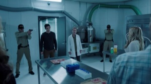 gaMe changer- Nate and Dr. Garber find the Struckers in the lab- The Gifted, Fox, X-Men