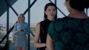 gaMe changer- Sage tells Reeva that someone is looking into Regimen Technologies- The Gifted, Fox, X-Men