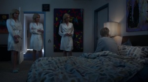 hoMe- Andy tells the Frost Sisters thath Lauren attacked him in a dream- Fox, X-Men, The Gifted