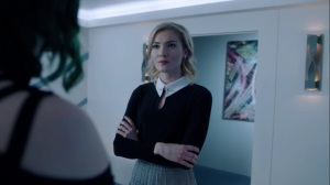 hoMe- Esme confronts Lorna on her talk with Andy- Fox, X-Men, The Gifted