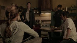 hoMe- Evangeline tells the Struckers and mutants that she once saved Erg's life- Fox, X-Men, The Gifted