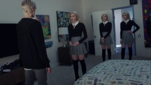 hoMe- Frost Sisters try to convince Andy to bring Lauren to the Inner Circle- Fox, X-Men, The Gifted