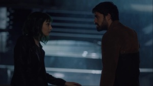 hoMe- Marcos tells Lorna that Evangeline is going to help them- Fox, X-Men, The Gifted
