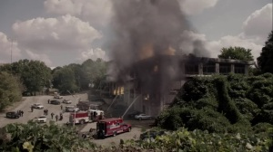 hoMe- Meeting location in flames- Fox, X-Men, The Gifted