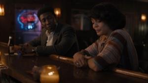 Kiss Tomorrow Goodbye- Wayne and Amelia talk at the bar- HBO, True Detective