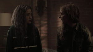 meMento- Caitlin and Clarice talk about John and Reed- The Gifted, Fox, X-Men