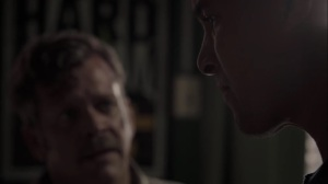 meMento- Jace asks Ted how the mutant boy was coming at him- The Gifted, Fox, X-Men