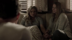 meMento- Lauren tells Reed and Caitlin about her dream- The Gifted, Fox, X-Men