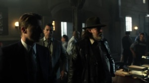 Penguin, Our Hero- Harvey and Alvarez tell Jim that Penguin is headed for Haven- Fox, Gotham, DC