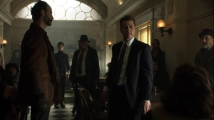 Penguin, Our Hero- Jim tells the people that in Haven, everyone helps one another survive- Fox, Gotham, DC