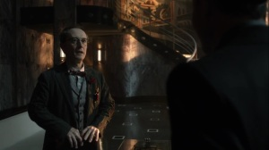 Penguin, Our Hero- Mr. Penn tells Oswald that people are fleeing to Haven- Fox, Gotham, DC