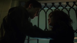 Penguin, Our Hero- Selina cuffs Bruce to the bars- Fox, Gotham, DC