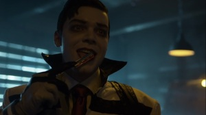 Ruin- Jeremiah licks a blade- Fox, Gotham