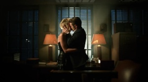Ruin- Jim and Barbara kiss- Fox, Gotham