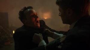 Ruin- Jim blames Penguin for the explosion- Fox, Gotham