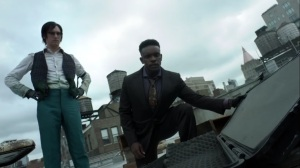 Ruin- Lucius and Riddler find the RPG case- Fox, Gotham