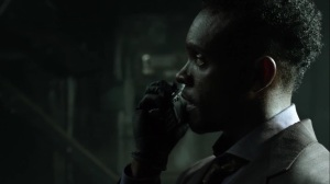 Ruin- Lucius tells Jim that Haven was blown up by an RPG- Fox, Gotham