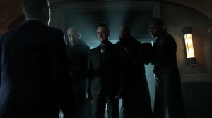 Ruin- Penguin tells Jim that Zsasz will be put on trial- Fox, Gotham