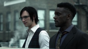 Ruin- Riddler and Lucius on the roof- Fox, Gotham