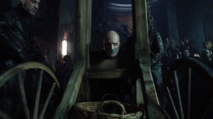 Ruin- Zsasz brought to the guillotine- Fox, Gotham