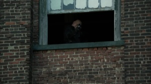 Ruin- Zsasz opens fire on Penguin and GCPD- Fox, Gotham