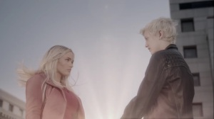 teMpted- Andy and Lauren join hands- Fox, X-Men, The Gifted