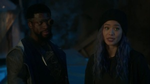 teMpted- Erg tells Blink that she was right to bring Caitlin underground- Fox, X-Men, The Gifted