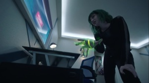 teMpted- Lorna hacks into the Inner Circle computer system- Fox, X-Men, The Gifted