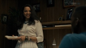 The Big Never- Amelia presents her new information to Wayne- HBO, True Detective