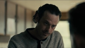 The Big Never- Tom asks Roland to pray with him- HBO, True Detective