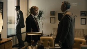 The Big Never- Wayne and Roland speak with a manager at Hoyt Foods- HBO, True Detective