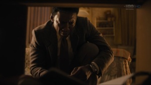 The Big Never- Wayne examines some items in Julie Purcell's room- HBO, True Detective