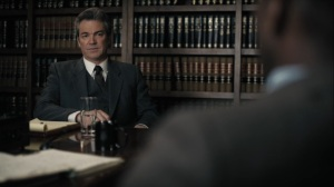 The Great War and Modern Memory- Alan asks Wayne about the Roland case- HBO, True Detective