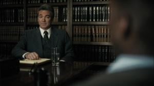 The Great War and Modern Memory- Alan Jones, played byJon Tenney, greets Wayne- HBO, True Detective