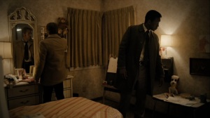 The Great War and Modern Memory- Roland and Wayne examine Julie's room- HBO, True Detective
