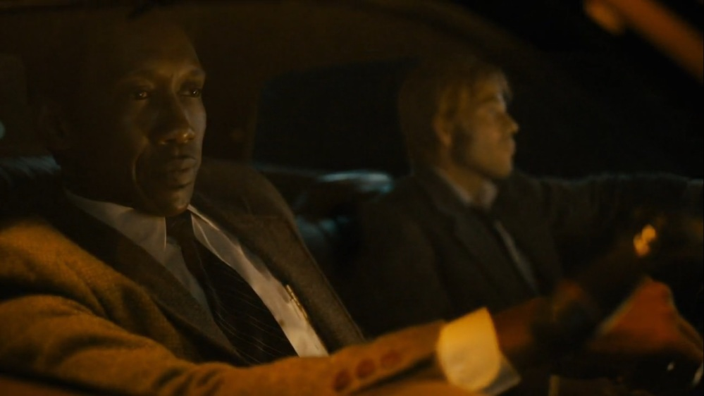 The Great War and Modern Memory- Roland and Wayne on the way to the Purcell home- HBO, True Detective