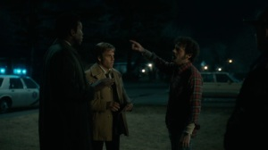 The Great War and Modern Memory- Tom wants Wayne and Roland to find his kids- HBO, True Detective